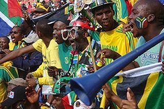 Vuvuzela et supporters
