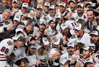 Les Blackhawks de Chicago champions 2010