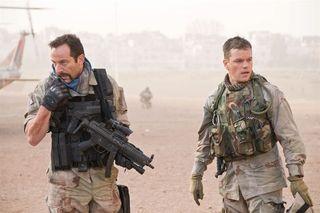 Jason Isaacs et Matt Damon