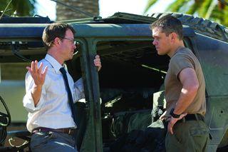 Greg Kinnear et Matt Damon