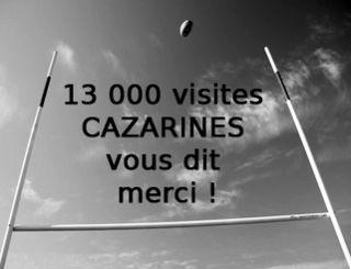 13000 visiteurs