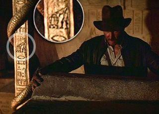 R2D2 et C3PO dans Indiana Jones