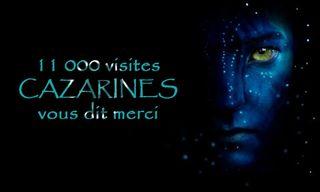 11000 visiteurs