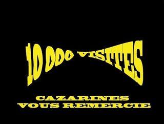 10000 visiteurs